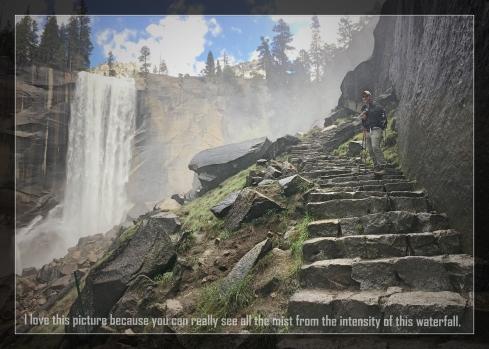 Yosemite mist